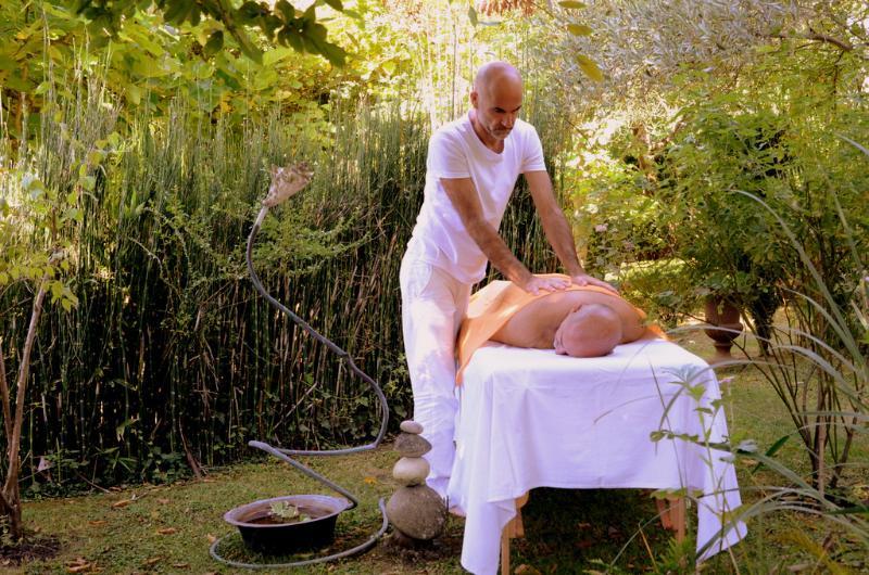 Déroulement d'une séance de massage à St-Nazaire